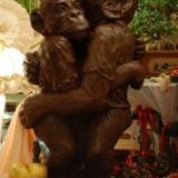 Gli scimpanzé di San Valentino