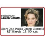 Coin rilancia il progetto Democratic Wear, il 12 marzo in vendita a 10 euro l'Arc Pant di G-Star RAW. Special Guest dell'evento Laura Chiatti