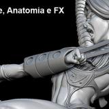 Corso Scultura digitale, Anatomia e FX (special effects)
