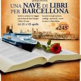 Una nave di libri da Civitavecchia a Barcellona  21-25 aprile  2010