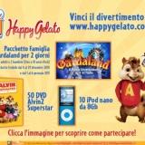 Assaggia HappyGelato® Pop, il gusto preferito di Alvin Superstar, e partecipa all'Happy - Concorso