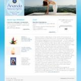 MGquadro annuncia la realizzazione del sito web Ananda Yoga Roma