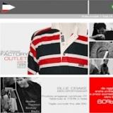 BLUE DRAKE marchio italiano di abbigliamento maschile apre il primo Factory Outlet online