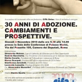 Convegno Cifa Onlus a Roma: 30 anni di adozione internazionale. 4 Novembre 2010