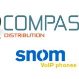 Con il 2013 al via la partnership tra snom e Compass Distribution