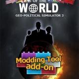 Masters of the World, Geopolitical Simulator 3: disponibile l'add-on Modding Tool