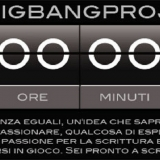 BigBangProject: un inizio per mille storie ed un perfetto romanzo - regolamento