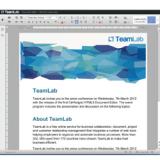TeamLab annuncia il primo elaboratore di testo online basato su HTML5